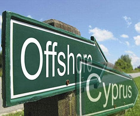 Cyprus company with account